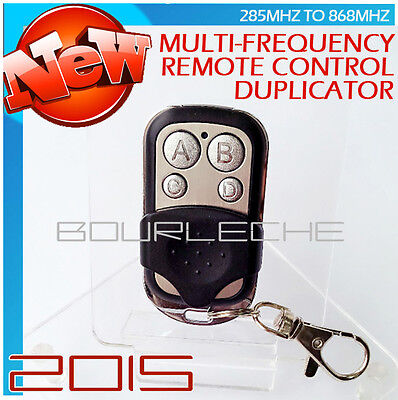 Multi-Frequency Universal Garage Remote Control Duplicator 433 868 315 390 MHz..