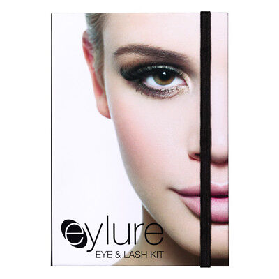 Eylure Warm Smokey Eye & Lash Make Up Kit Mascara Liner Eye Shadows False Lash