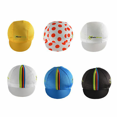 ROCKBROS Pro Team Cycling Cap Hat Sunhat Suncap World Champion