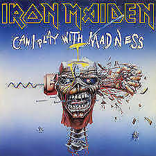 """Iron Maiden - Can I Play With Madness NEW 7"""""""