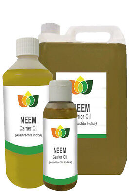 Neem Organic Refined Unrefined Pure Natural Base Carrier Aromatherapy