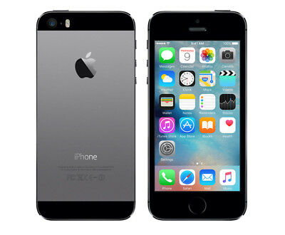 Neuf Apple Iphone 5S Unlocked 64Go Gris Sideral Ios10 Smartphone + Free Gifts
