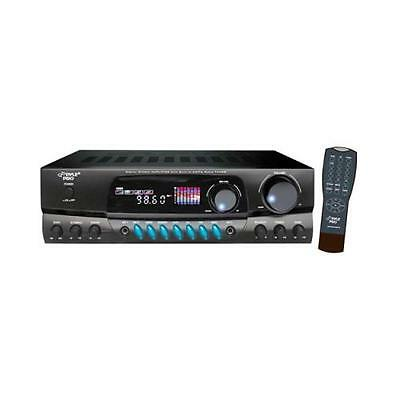 Pyle Pt260a Home Theater Am/fm Receiver And Amplifier Amp With Remote 200w