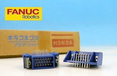 MR-20RMA 20 pin Male Angle PCB Mount HONDA Japan CONNECTOR FANUC CNC Plug