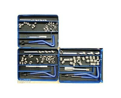 Rdgtools Metric Fine Helicoil Thread Repair Set M5 - M12 Inserts And Tools Set