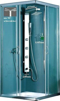 Aluminium Shower Panel Body Jets For Wall And Corner Sanlingo