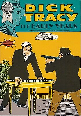 Dick Tracy The Early Years Book 3 April 1988 Blackthorne  USED