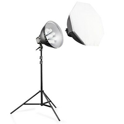 walimex pro Studioset Daylight Set 1260 mit Softbox und Stativ