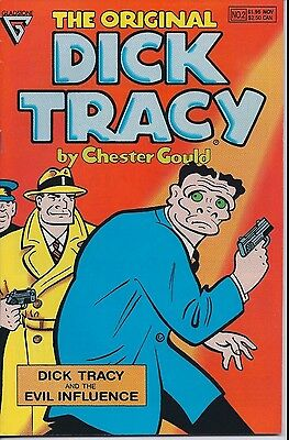 The Original Dick Tracy Number 2 November 1990 Gladstone USED