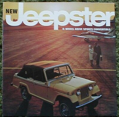 1966 Jeepster  4WD Sports Convertible Brochure 66