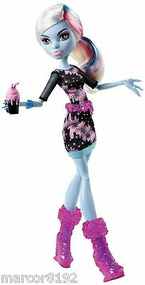 Monster High Doll Coffin Abbey Bominable New by Mattel