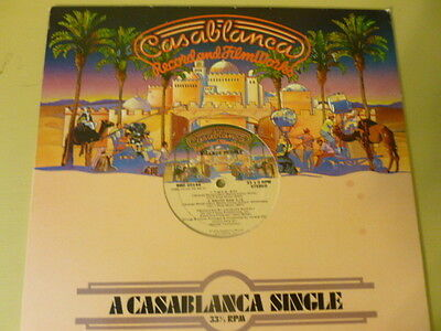 """The Village People-Casablanca One Sided 12"""" Single-Y.M.C.A. and Macho Man-Nice"""