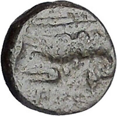 PRIAPOS in MYSIA 300BC Apollo Crayfish Authentic Ancient Greek Coin RARE i46963