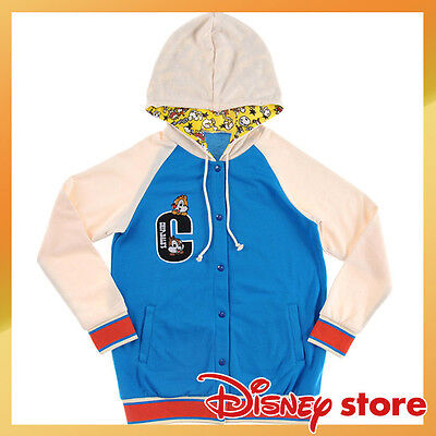 NEW Disney STORE Chip & Dale Parka hooded (M) Super Market series Japan