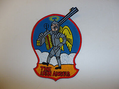 b5293 US Navy  Korea  VF 53 The Iron Angels USN patch Fighter Squadron R8E