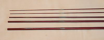 IM6, 4 PC, 3 WT, 9 FT FLY ROD BLANK, Wine Colored,  2 Tips, by Roger