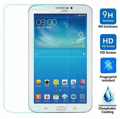 """Tempered Glass Screen Protector Film For Samsung Galaxy Tab 3 7.0"""" SM-T210/p3200"""