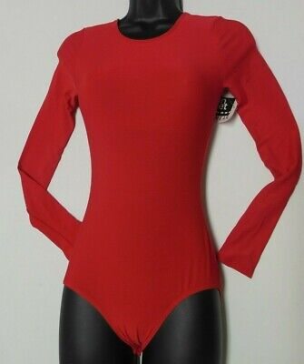 NWT Long Sleeve Snap Crotch Leotard Praise Cheer Lots Colors & Sizes ch/ad PLUS