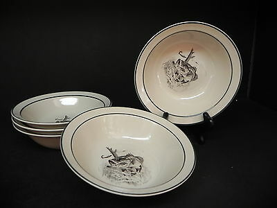 Bass Pro Shops The Catch Cereal Bowls (set of 5)  ..