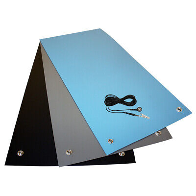 Anti-Static ESD Grounding High Temperature Soldering and Glueing Bench Mat Kit