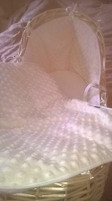 Beautiful Replacement Covers / Dressing For Mothercare Noah / Issypod Basket