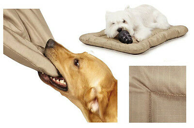 Heavy Duty Chew Resistant Crate Mats for Dogs - Reinforced Megaruffs Dog Beds !