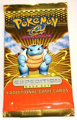 Pokemon e Factory Sealed Unopened Booster Pack Expedition Base Set