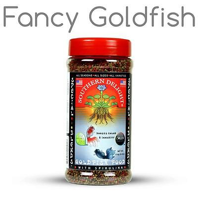 Southern Delight GOLDFISH Food Tropical Fish Food Special Blends 1.5 mm Pellet