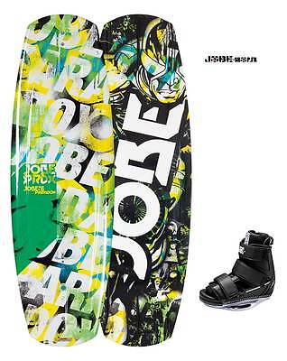 JOBE 2015  - Wakeboard Paradox Series Package Green 118, 124 - board+chausses