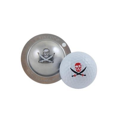 Tin Cup Golf Ball Marking System (Fire in the Hole)