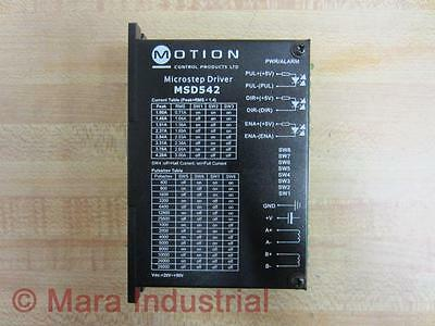MOTION CONTROL PRODUCTS -- Msd542 -- Microstep Driver -- New