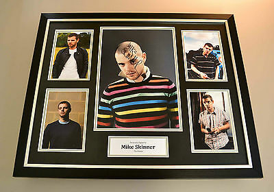 Mike Skinner Signed Photo Large Framed Display The Streets Autograph Memorabilia