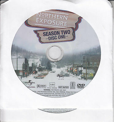 Northern Exposure -  Complete Second Season (DVD, 2012, 2-Disc) NCV