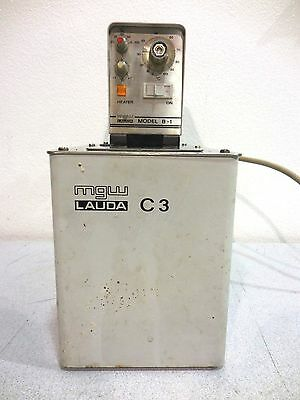 Rx-575, Mgw Lauda B-1 / C-3 Circulating Heated Water Bath
