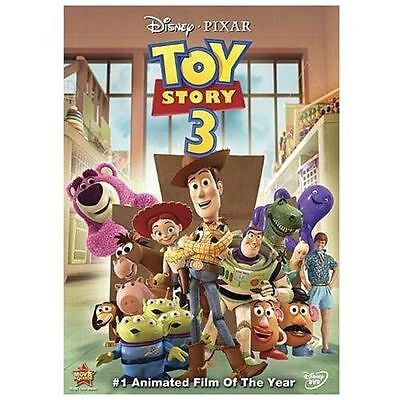 Toy Story 3 (DVD, 2010) With Cover