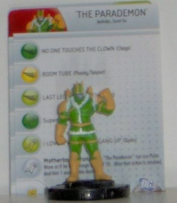 Brave and the Bold Heroclix 030 The Parademon