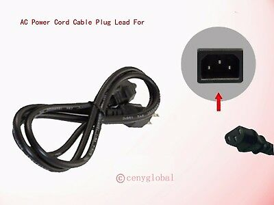AC Power Cable Outlet Line Cord Plug For Brother Color Laser Printer HL Series