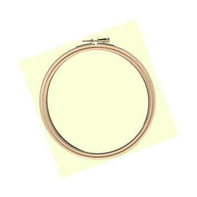 "VAT Free Elbesee 4"" Wooden Cross Stitch & Embroidery Hoop New"