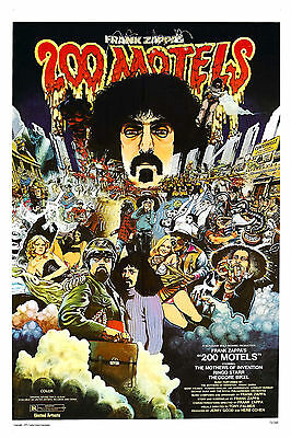 Frank Zappa in * 200 Motels * Movie Poster 1971