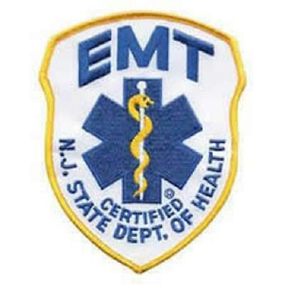 NJ EMT Shoulder Patch
