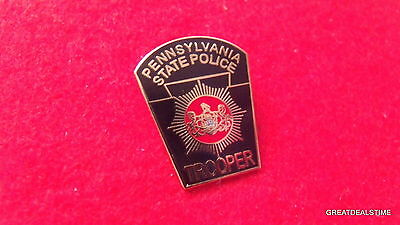 PA State Police Dept Patch Badge,Trooper Officer Mini LAPEL PIN, Pennsylvania