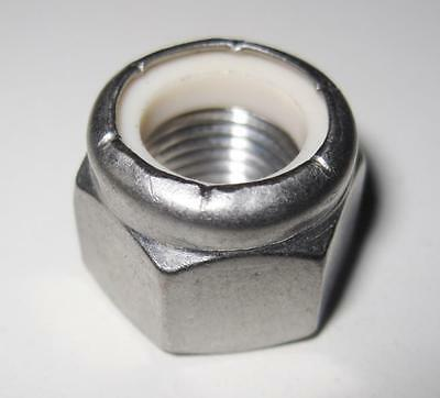 "5/16"" UNF Nyloc Nut - A2 Stainless Steel (Qty 10)"