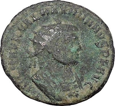 Maximian  Antioch Ancient Roman Coin Hercules gives Victory to Jupiter  i47035