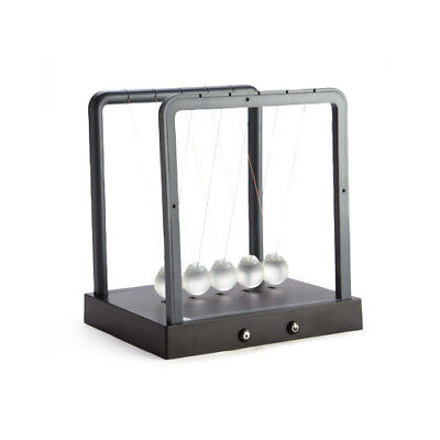 LED Light Up Newton's Cradle Neon Gadgets Kinetic Cradles Steel Balance Physics