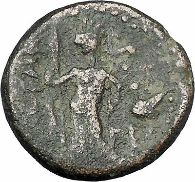 HADRIAN 117AD Ascalon in Judaea Rare Authentic Ancient Roman Coin i47194