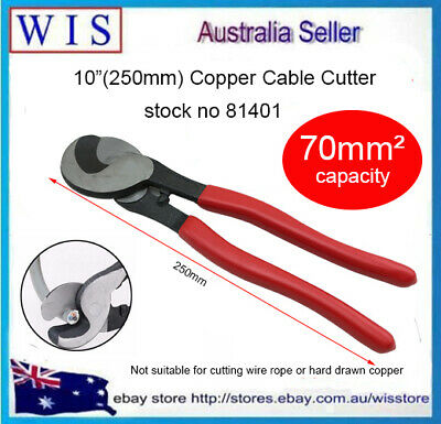 "10""(245mm) Copper Cable Cutter up to 70mm²,Hand Held Cable Wire Cutter-81401"