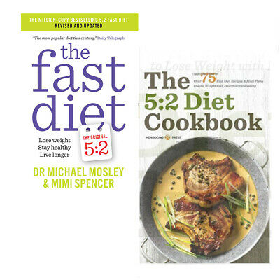 5:2 Diet Cookbook Recipes Fast Lose Weight Stay Healthy 2 Books Collection Set