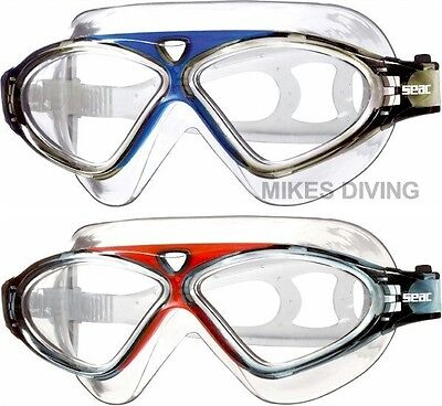 SEAC VISION HD - swimming goggles swim ADULT