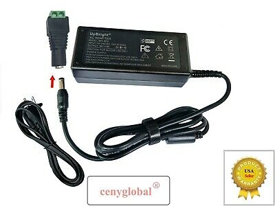 Screw Terminals Adapter DC 5V 6V 9V 12V 15V 18V 24V AC Power Supply Cord Charger