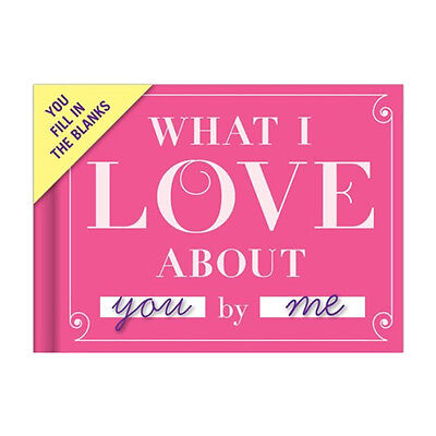 Knock Knock What I Love about You Journal Hardcover Love Journal Cute Gift
